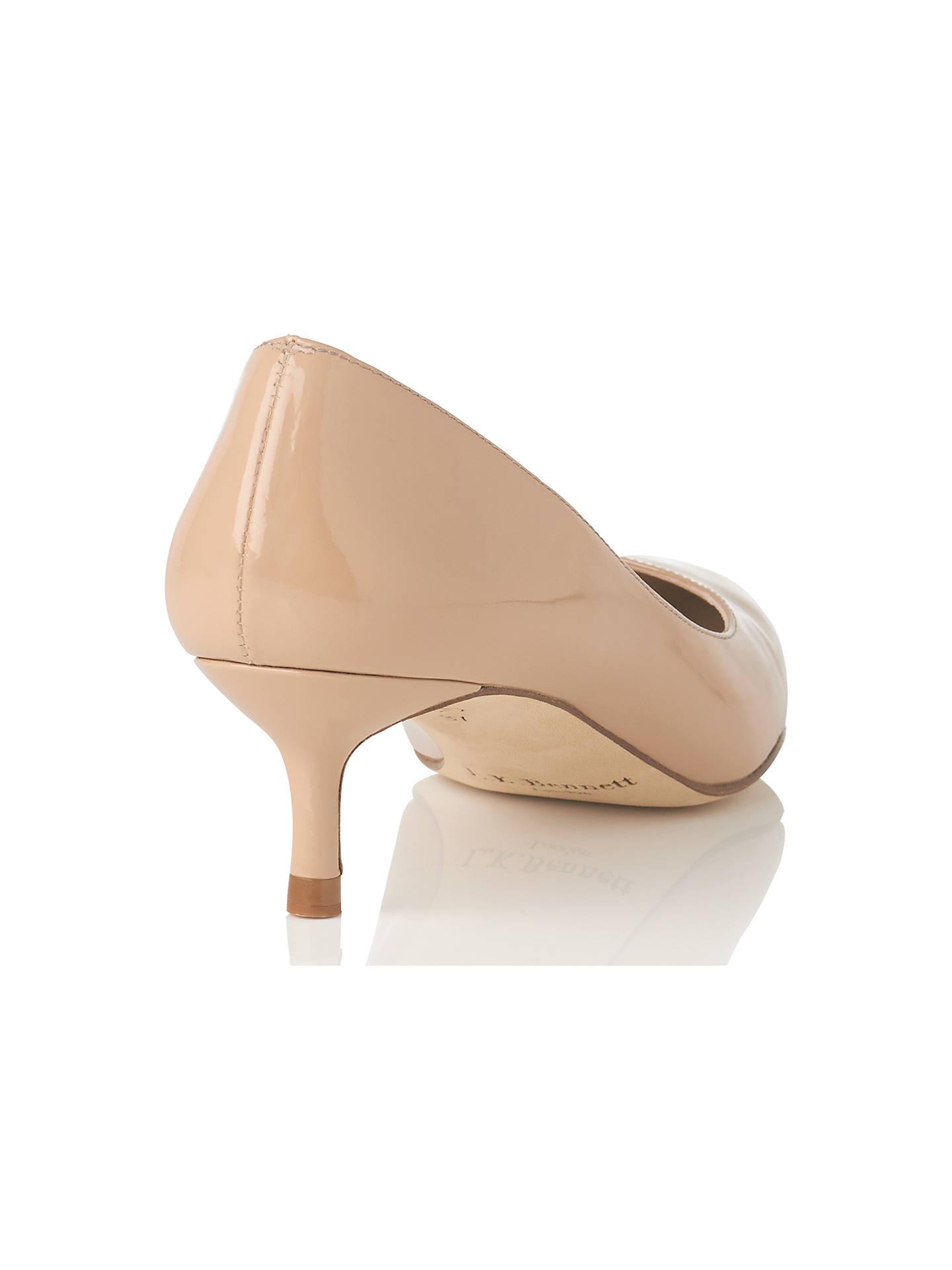 93106b2e425c L.K.Bennett Audrey Pointed Toe Court Shoes at John Lewis   Partners