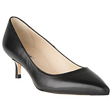 Buy L.K. Bennett Audrey Pointed Toe Court Shoes Online at johnlewis.com
