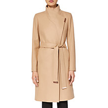 Buy Ted Baker Kikiie Wrap Front Coat Online at johnlewis.com