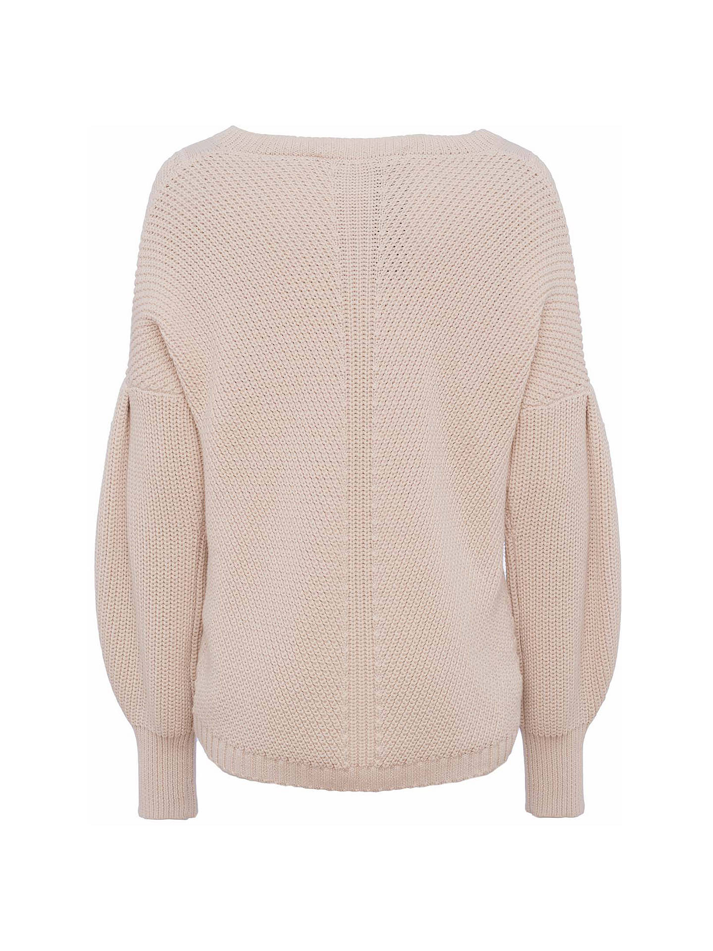 BuyFrench Connection Millie Mozart V-Neck Jumper, Classic Cream, XS Online at johnlewis.com