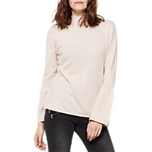 Buy Mint Velvet Fluted Sleeve Jumper Online at johnlewis.com