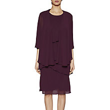 Buy Gina Bacconi Eleanor Layered Chiffon Dress And Shawl Online at johnlewis.com
