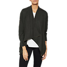 Buy Mint Velvet Stud Sleeve Cardigan, Dark Green Online at johnlewis.com