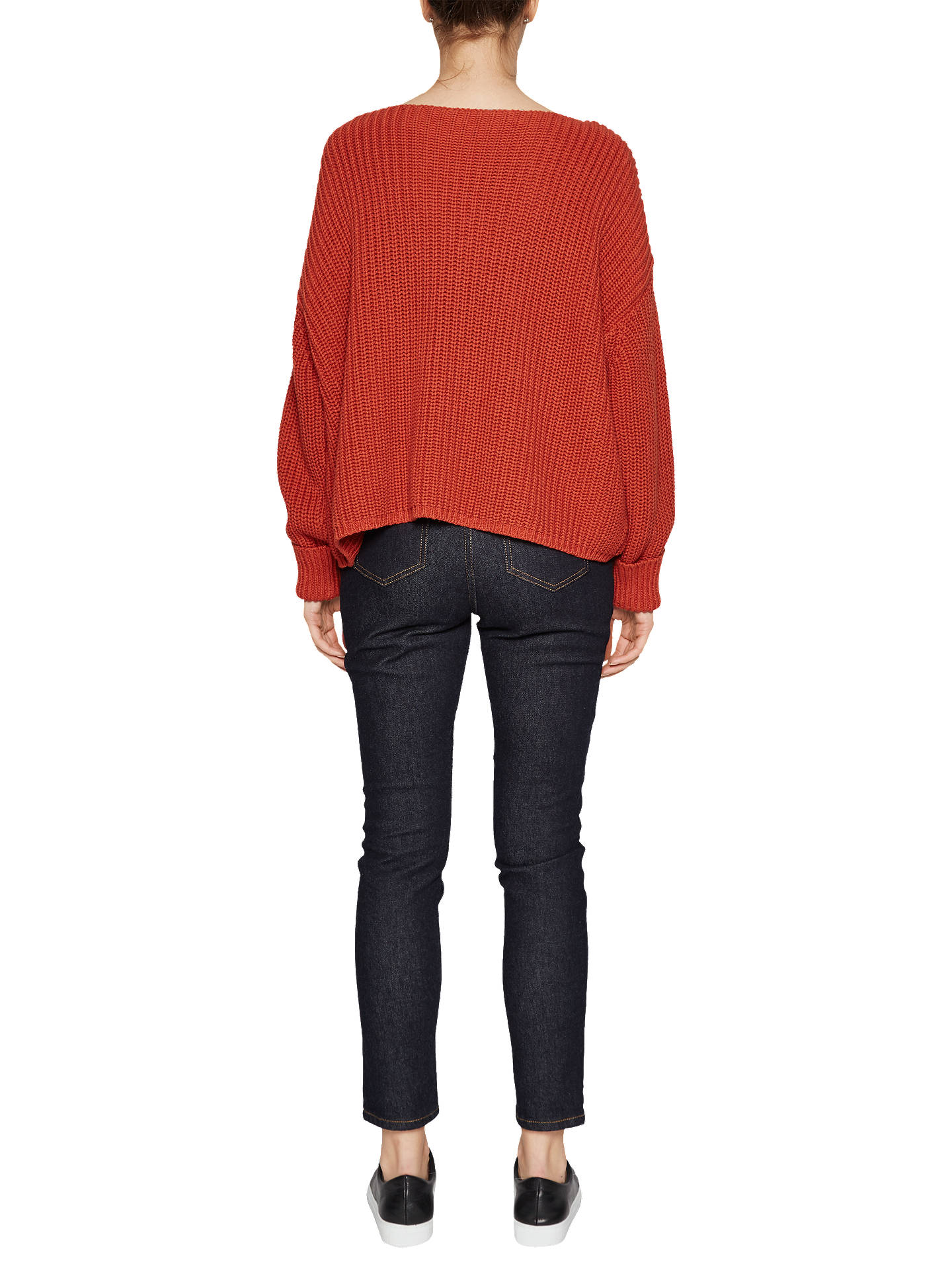 Buy French Connection Millie Mozart Jumper, Copper Coin, L Online at johnlewis.com