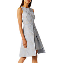 Buy Coast Jodie Jacquard Dress, Pale Blue Online at johnlewis.com