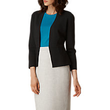 Buy L.K. Bennett Ives Structured Cardigan, Black Online at johnlewis.com