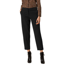 Buy L.K. Bennett Relia Trousers, Black Online at johnlewis.com