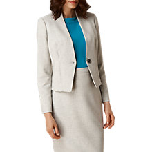 Buy L.K. Bennett Lize Suit Jacket, Grey Melange Online at johnlewis.com