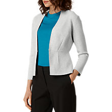 Buy L.K. Bennett Structured Cardigan, Grey Online at johnlewis.com