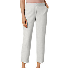 Buy L.K. Bennett Lize Tailored Trousers, Grey Melange Online at johnlewis.com