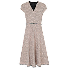 Buy L.K. Bennett Shippa Tweed Dress, Pink Online at johnlewis.com