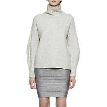 Buy French Connection Rosa Knit Pencil Skirt, Silver Online at johnlewis.com