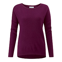 Buy Pure Collection Dip Hem Jumper Online at johnlewis.com