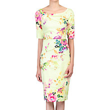 Buy Jolie Moi Half Sleeve Floral Print Dress Online at johnlewis.com