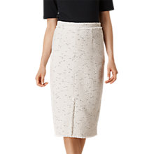 Buy L.K. Bennett Laurel Tweed Skirt, Cream Tweed Online at johnlewis.com