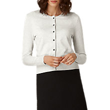 Buy L.K. Bennett Andie Pearl Button Cardigan Online at johnlewis.com