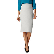 Buy L.K. Bennett Lize Pencil Skirt, Grey Melange Online at johnlewis.com