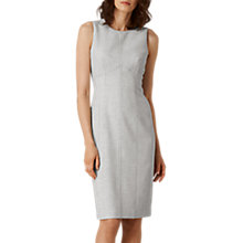 Buy L.K. Bennett Lize Suit Dress, Grey Melange Online at johnlewis.com