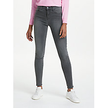 Buy J Brand Maria High Rise Super Skinny Jeans, Night Bird Online at johnlewis.com