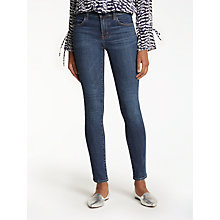 Buy J Brand Maria High Rise Super Skinny Jeans, Mesmeric Online at johnlewis.com