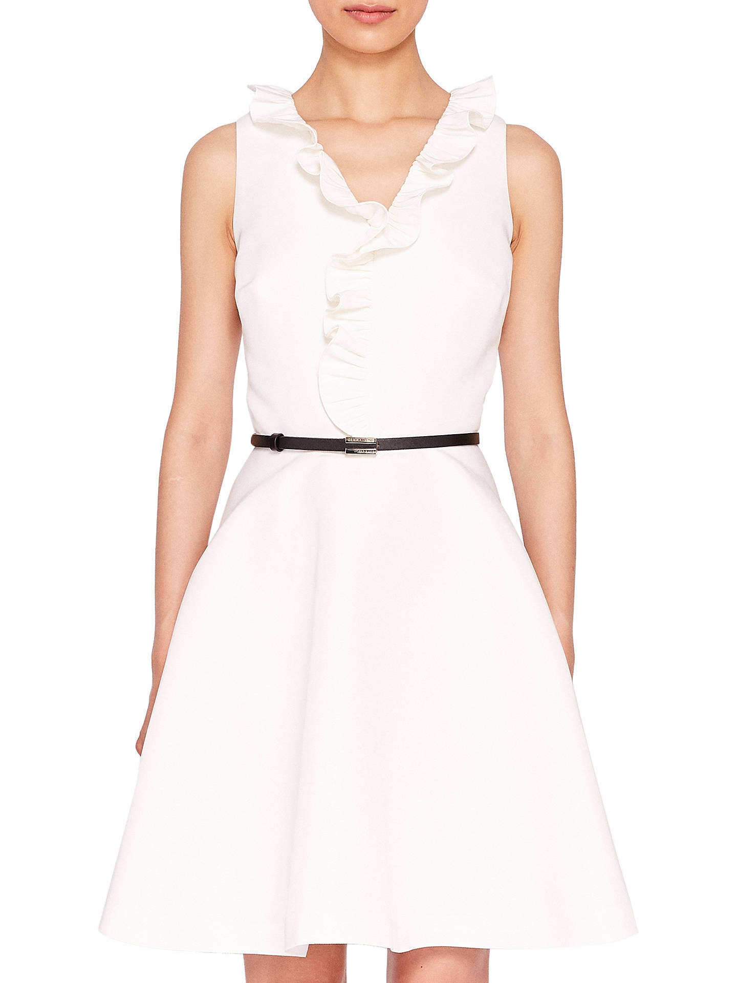 085353a21c082c Buy Ted Baker Qwinn Pleated Neck Tie Dress