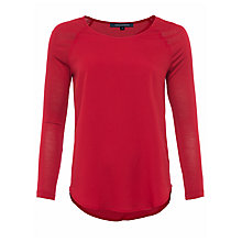 Buy French Connection Raglan Sleeve Top Online at johnlewis.com