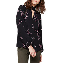 Buy Mint Velvet Blossom Print Blouse, Multi Online at johnlewis.com