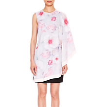 Buy Ted Baker Chelsea Double Layer Dress, White/Multi Online at johnlewis.com