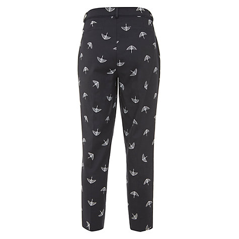 Buy Mint Velvet Imogen Print Cotton Capri, Multi Online at johnlewis.com