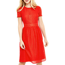 Buy Oasis Day Skater Dress, Mid Red Online at johnlewis.com