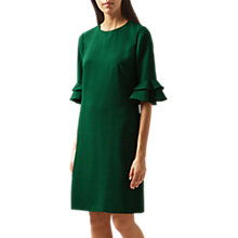 Buy Hobbs Frances Dress, Grass Green Online at johnlewis.com