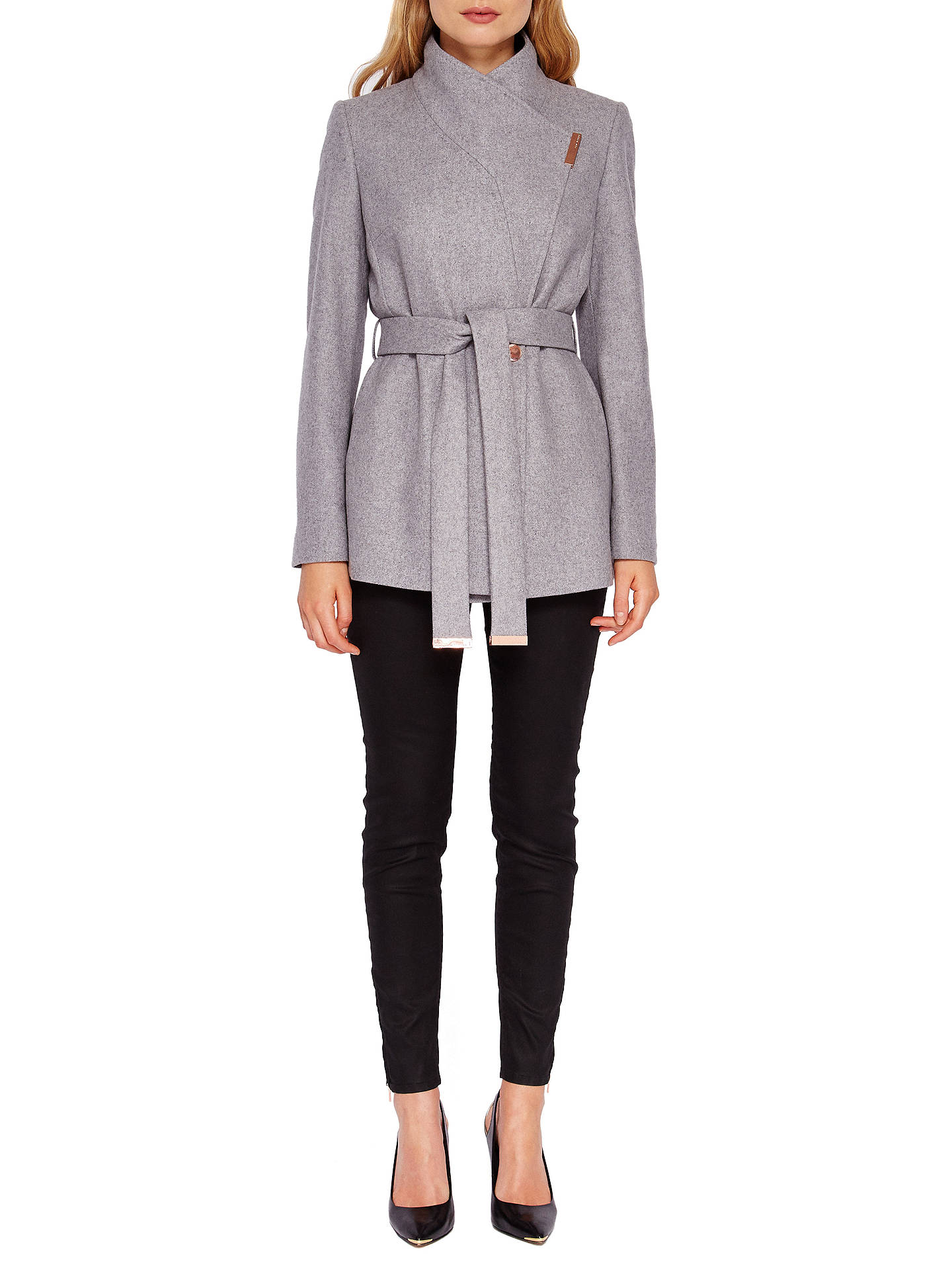 91d418305 Ted Baker Keyla Short Wrap Coat at John Lewis & Partners