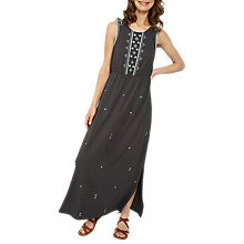 Buy Fat Face Nadine Embroidered Maxi Dress Online at johnlewis.com