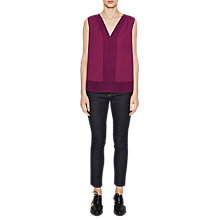 Buy French Connection Sleeveless Top, Dahlia Pink Online at johnlewis.com