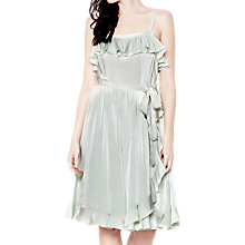Buy Ghost Brooke Dress, Mist Green Online at johnlewis.com