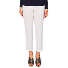 Buy Ted Baker Rutti Tapered Ankle Grazer Trousers, Light Grey Online at johnlewis.com