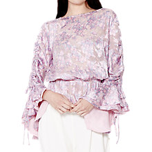 Buy Ghost Salma Floral Pippa Top, Salma Floral Online at johnlewis.com