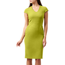 Buy Hobbs Louisa Dress, Soft Mimosa Online at johnlewis.com