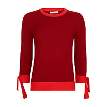 Buy Hobbs Kirby Jumper, Red Online at johnlewis.com