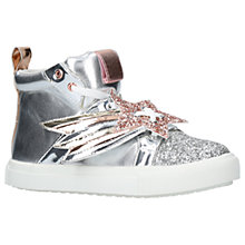 Buy Mini Miss KG Children's Shooting Star High Top Trainers Online at johnlewis.com