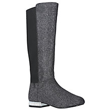 Buy Mini Miss KG Children's Solo Tall Boots, Grey Online at johnlewis.com