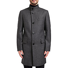 Buy HUGO by Hugo Boss C-Sintrax Coat, Dark Grey Online at johnlewis.com