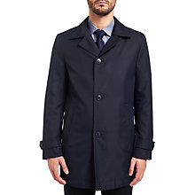 Buy HUGO by Hugo Boss C-Dais8 Technical Padded Mac, Navy Online at johnlewis.com