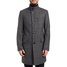 Buy HUGO by Hugo Boss C-Sintrax Coat, Charcoal Online at johnlewis.com