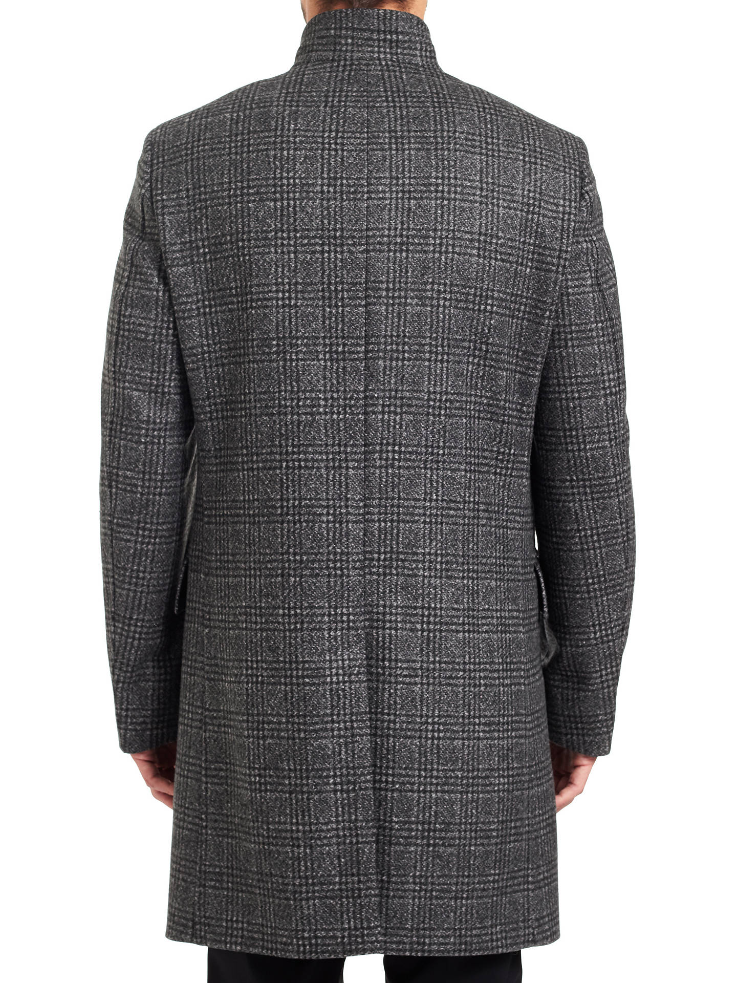 BuyHUGO by Hugo Boss C-Sintrax Coat, Charcoal, 36R Online at johnlewis.com