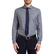 Buy HUGO by Hugo Boss C-Gordon Check Shirt, Navy Online at johnlewis.com