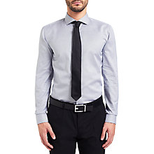 Buy HUGO by Hugo Boss C-Jason Check Slim Fit Shirt, Navy Online at johnlewis.com