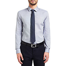 Buy HUGO by Hugo Boss C-Jenno Weave Shirt, Navy Online at johnlewis.com