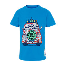 Buy Fat Face Boys' On Tour T-Shirt, Blue Online at johnlewis.com
