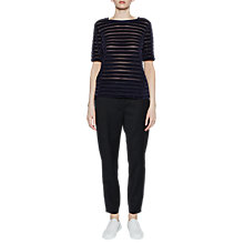 Buy French Connection Bernice Stripe Top Online at johnlewis.com